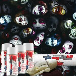 Hydrographic Film Kit Hydro Dipping Water Transfer Printing Sugar Skull Dd 929