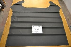 1950 1951 50 51 Ford Coupe 6 Bow Black Crater Headliner Usa Made Top Quality