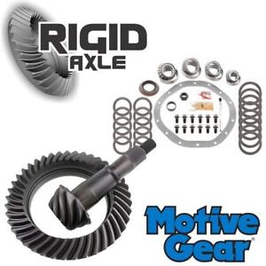 4 10 Motive Ring And Pinion Gear Set Bearing Kit Early Gm Chevy 9 5 14 Bolt