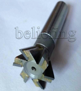 1pc 40mm X 60 Degree Dovetail Cutter End Mill