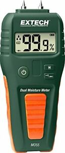 Extech Mo55 Combination Pin pinless Moisture Meter Other Test Meters Detectors