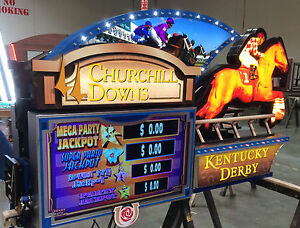 Large Custom Electronic Sign With 2 Led Tvs Kentucky Derby Churchill Downs