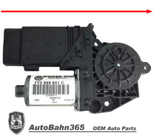New Genuine Oem Vw Left Power Window Motor Beetle Convertible Cabrio 2003 2010