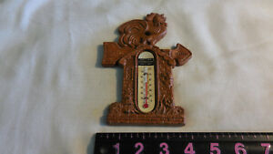 Rise Shine Rooster Thermometer Primitive Country Farmhouse Kitchen Sign
