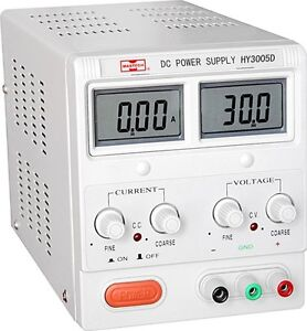 Lcd Digital Display 30v Dual Display Bench Top Power Supply Voltmeter