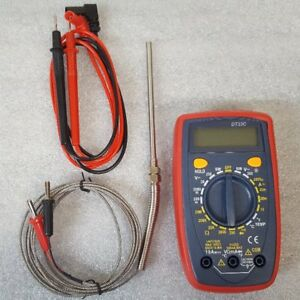Blacksmith Thermocouple Dt33c Type K Displays 0 1999 f 0 1250 c