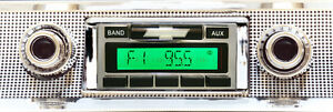 1957 Chevy Bel Air Nomad 150 210 Am Fm Stereo Radio Usa 230 200 W Aux Input _