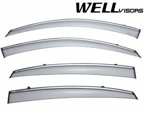 Wellvisors Deflectors Window Visors 09 17 For Infiniti Fx35 Fx37 Fx50 Qx70
