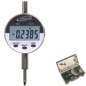 Igaging 0 5 0 0005 Digital Electronic Indicator Gauge W Absolute And Hold
