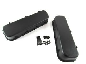Big Block Chevy Aluminum Tall Valve Covers 396 427 502 Black Bpe 2101b