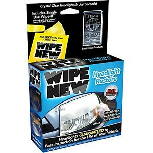 Wipe New Hdl6pcmtrrt Headlight Restore Kit 6 Pack