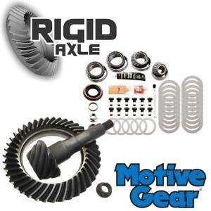 3 55 Motive Gear Ring And Pinion Set W Bearing Kit Late Ford 9 75 12 Bolt