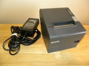 Epson Tm t88iv M129h Thermal Pos Point Of Sale Receipt Printer With Power Supply