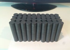 3 4 Round Ceramic Ferrite Magnets Bulk 1000 Pcs Brand New Free Shipping