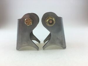 Weld On Axle Shock Mount Brackets Jeep Yj With 1 2 Grade 8 Hardware Made In Usa