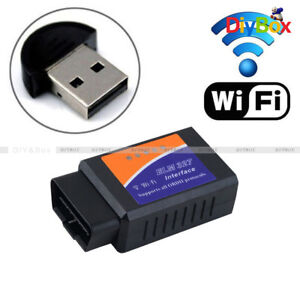 Obdii Obd2 Elm327 Wifi Car Diagnostic Scanner Code Reader For Ios