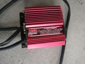 Msd Ignition 7562 Programmable Launch Turbo Boost Controller Dragster