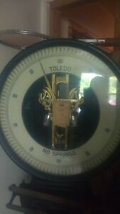 Vintage Lollypop 1000 Lbs Toledo Scale