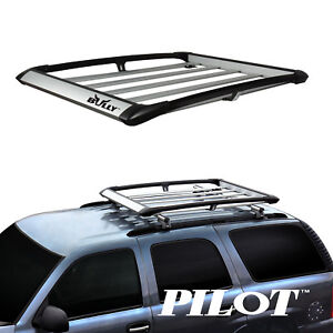 Bully Universal Aluminum Cargo Carrier Roof Utility Rack Basket 60 X 42