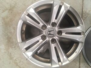 42700sztg91 16x6 10 Spoke All 2011 Honda Crz Wheel Pre Owned Oem