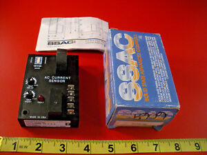 Ssac Ecs61bc Universal Current Sensor Ac Time Delay 230vac Nib New