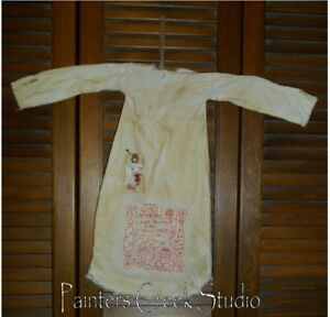 Primitive Decor Have Yourself A Merry Nightshirt Cupboard Grungy Prim Christmas