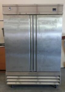 Cold Tech 2 Door Upright Commercial Freezer Model Cfd 2f Stainless Steel