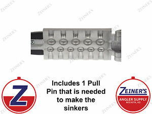 1172 New Do It Egg Sinker Mold 6 cavities of 14 and 5 cavities of 12 oz
