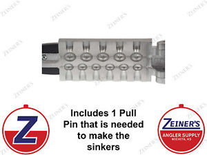 1172 New Do It Egg Sinker Mold 6 cavities of 1 4 and 5 cavities of 1 2 oz $36.95