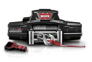 Warn 92810 Zeon Platinum 10 Winch10000 Lb 4536 Kg Single Line Roller Fairlead