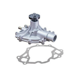 Ford Small Block 302 351w Engines Satin Reverse Rotation Water Pump Hc8054