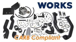 Works Fr S Brz Stage 1 Simple Turbo Kit Calibrated Kit Carb Compliant