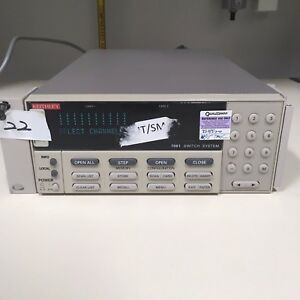 Keithley 7001 With Keithley 7012 s 4x10 Matrix