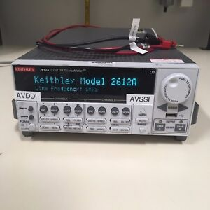 Keithley 2612a System Sourcemeter