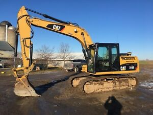 2012 Caterpillar 315dl Excavator Hydraulic Thumb 3200hrs Video