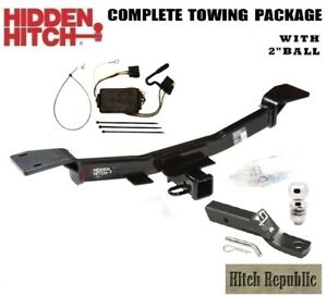 Fits 2005 2010 Kia Sportage 6 Cy Class 3 Trailer Hitch Package W 2 Ball 87447