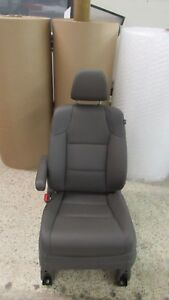 2014 2016 Honda Odyssey Driver Seat Fr Left Truffle Nh767l Leather W Airbag