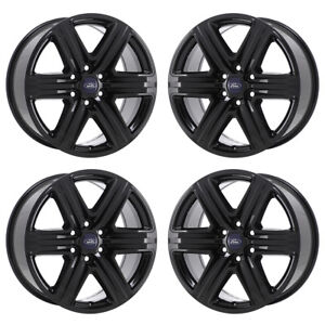 20 Ford F150 Truck Black Wheels Rims Factory Oem Set 4 2018 2019 10172 Exchange