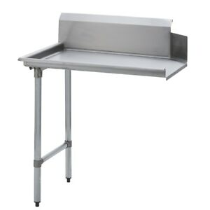 Stainless Steel Commercial Kitchen Clean Dish Table Left Side 30 X 48 S s