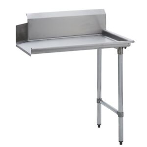Stainless Steel Commercial Kitchen Clean Dish Table Right Side 30 X 72 G