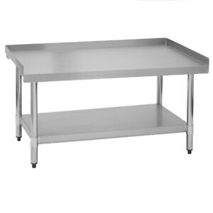 Stainless Steel Commercial Restaurant Equipment Stand 24 X 72