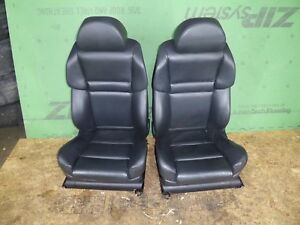 Front Sport Seats Power Electric Heated Active Side Fully Adjustable Oem Bmw E60