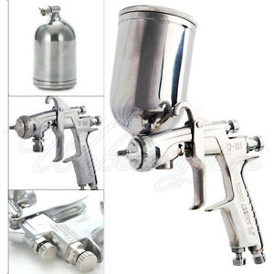 Anest Iwata W 101 Hvlp Gravity Feed Paint Spray Gun 1 0 1 3 1 5 1 8mm With Cup