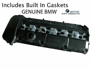 Bmw Engine Valve Cover Genuine Oe 11121432928 New Oem