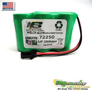 Rechargeable Medical Battery For Welch allyn Wa20510h 72250 3 6v Rohs Qty 1