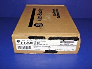 2017 Factory Sealed Allen Bradley 1746 ni4 b Analog Input Slc 500 1746 n14