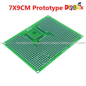 7x9cm Double Side Prototype Pcb Strip Board For Esp32 Esp32s Esp12e Esp12f Relay