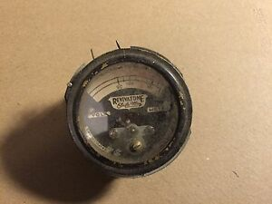 Vintage Revivatone Safe Way Ac Volts Meter Measures 90 130 Antique Gauge