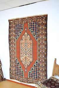 Gorgeous Antique Kurdish Rug Circa 1920 S Kurd Mazlaghan Area Heriz