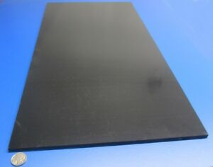 Abs Sheet Smooth On Both Sides Color Black 250 1 4 X 12 X 24